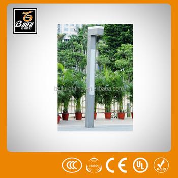Gl 2313 Water Proof Metal Stick Solar Lighting Garden Light For Parks Gardens Hotels Walls Villas