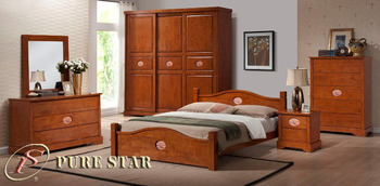 Malaysia Solid Rubber Wood Bedroom Set Buy Solid Wood Bedroom Set Product On