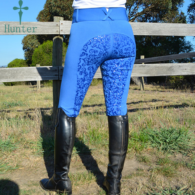 High Quality Silicon Women Racer Pants Thick Polyamide <strong>Horse</strong> Riding Leggings Jodhpurs