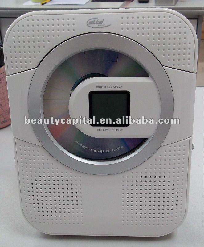 Water Proof Kitchen Clock Dab Radio With Cd Player Digital Bathroom Product On Alibaba