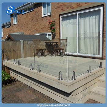 Diy Installation Glass Pool Fence Spigot Fencing Buy Fencing Glass