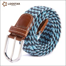 New Style Popular Professional Mens Braided Elastic Belt,Waist Belt