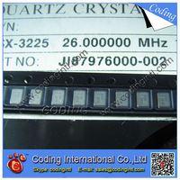 TSX-3225 26MHZ 10PF 10PPM QUARTZ CRYSTAL OSCILLATORS