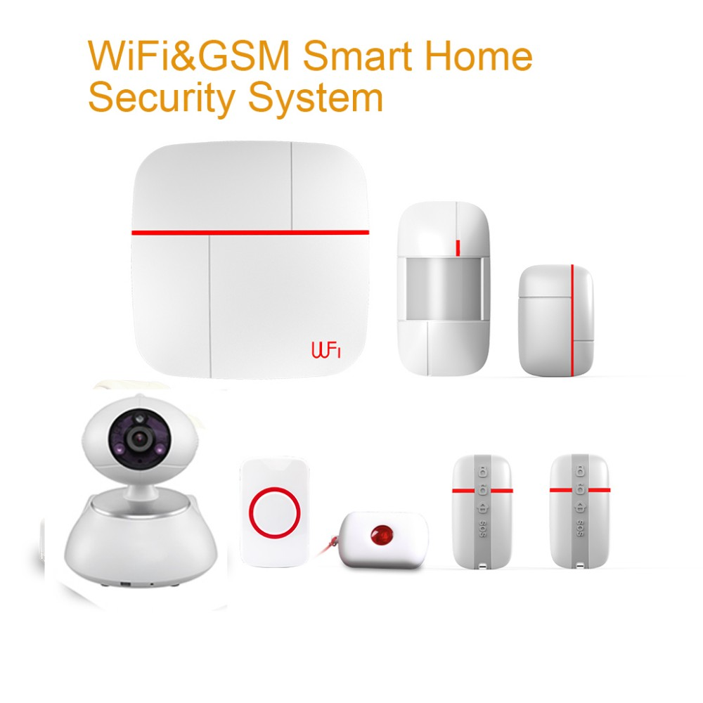 Smart Home Wi-Fi and <strong>GSM</strong>(3G) anti Intruder Alarm System