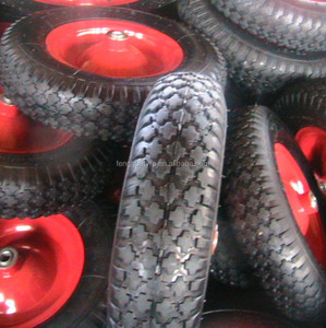 pneumatic rubber wheel 3.50-8 wheel barrow tire