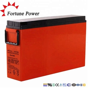 Fortune Power 12V 200Ah Front Terminal GEL Battery For Telecom