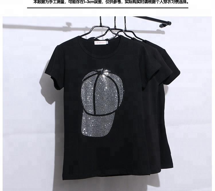 iron on sequin transfers hotfix motif designs glass rhinestones custom t shirt printing