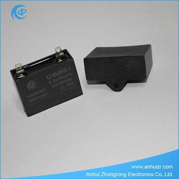 Cbb61 Ac Motor Deckenventilator Kondensator 450vac 1,75 Uf - Buy ...
