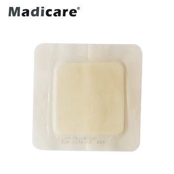 Medical Foam Dressing Non Adhesive For High Exudation Wounds: Ulcers  Bedsores Donated Skin Areas Burn Hurt - Buy Sterile Foam Dressing,Medical