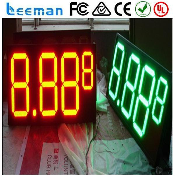 led ticker gas price sign display train station led display led running message display sign