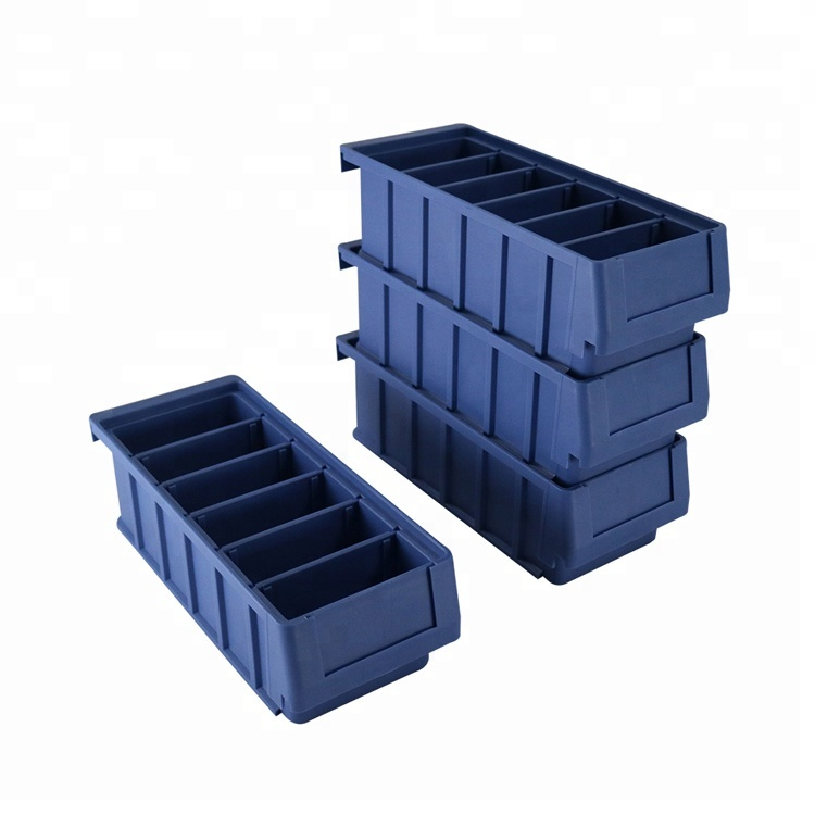 Stackable Plastic Bins For Warehouse Storage Drawers With