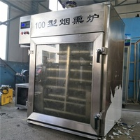 Commercial Smokehouse For Sausage/Ham/Fish/Meat Smoking Machine