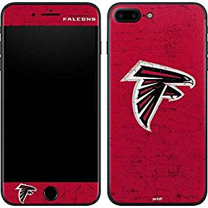NFL Atlanta Falcons iPhone 7 Plus Skin - Atlanta Falcons - Alternate Distressed Vinyl Decal Skin For Your iPhone 7 Plus