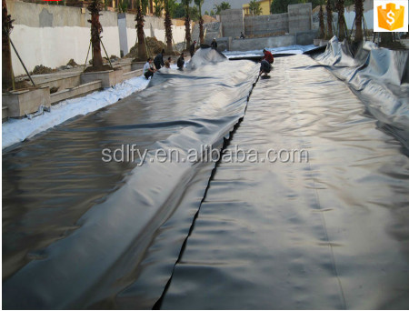 artificial pond fish 1.0mm HDPE geomembrane