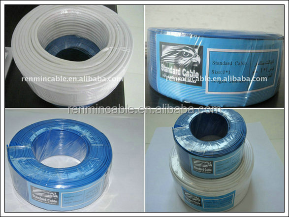 2.5mm2 ,4mm2 building and housing Electrical Wire HO7V--U/K/R