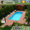 New tech swimming pool decking engineer type extrustion wpc