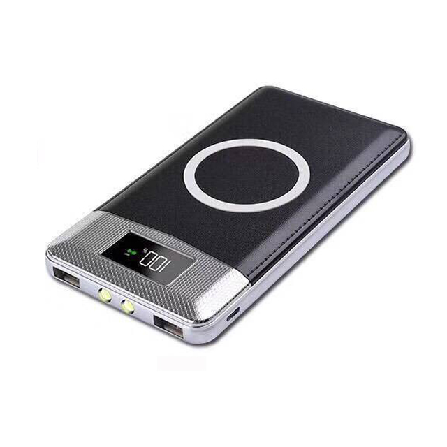 Portable Power Bank Wireless Charger Powerbank Charging Mobile Phone Charger