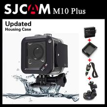 Original SJCAM M10 Plus WiFi 2K Video Resolution Mini Sport Action Camera+Extra 1pcs Battery+Battery Charger+Car Charger+Holder