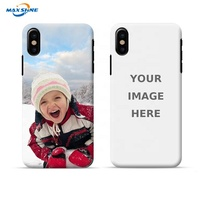 Maxshine custom phone cases,Logo Customized Hard PC Phone Case For iPhone X XS MAX XR design phone case