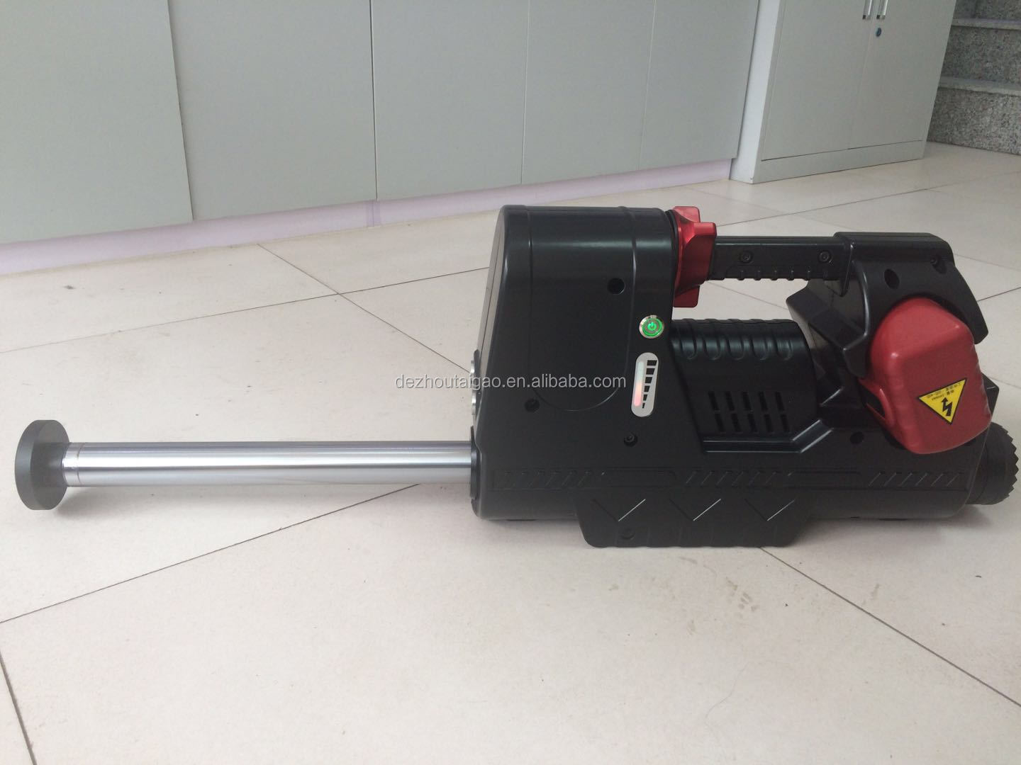Electric hydraulic rescue equipment jack or jacking device