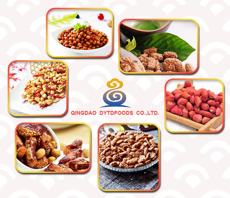 Decorative Low Price Fried Spicy Peanuts Mixed With Dried Clovefish