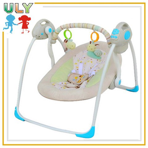 Comfortable adjustable baby bouncer chair safe baby swing bouncer automatic baby bouncer