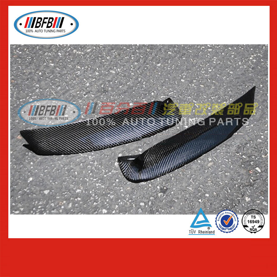 car body parts 1998-2001 E46 M3 Front Bumper Splitter carbon fiber FOR BMW 3 series
