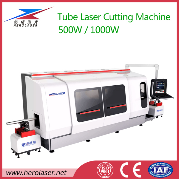 Square/ Round/ Oval/ Polygon Stainless Steel Pipe Fiber Laser Cutting Machine