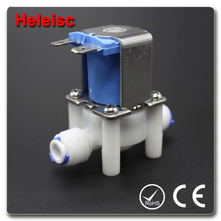 Low price miniature 12V plastic electric solenoid valve washing machine water inlet solenoid valve