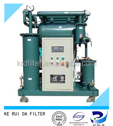 Water Rigid Granules Removing Used Transformer Oil Purifier Machine