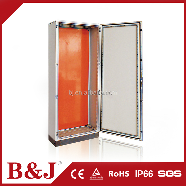 B&J OEM Custom Sheet Steel Electrical Floor Standing Cabinet / Cable Distribution Cabinet