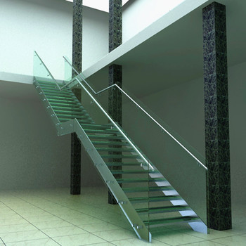 Outdoor Steel Stairs With Steel Steps For Stairs / Prefabricated Stairs  Steel PR L1074