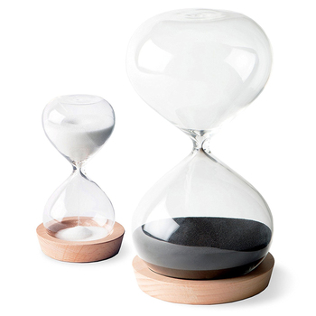 30 Minute & 5 Minute Productivity Sand Timer Hourglass for Hardworking People