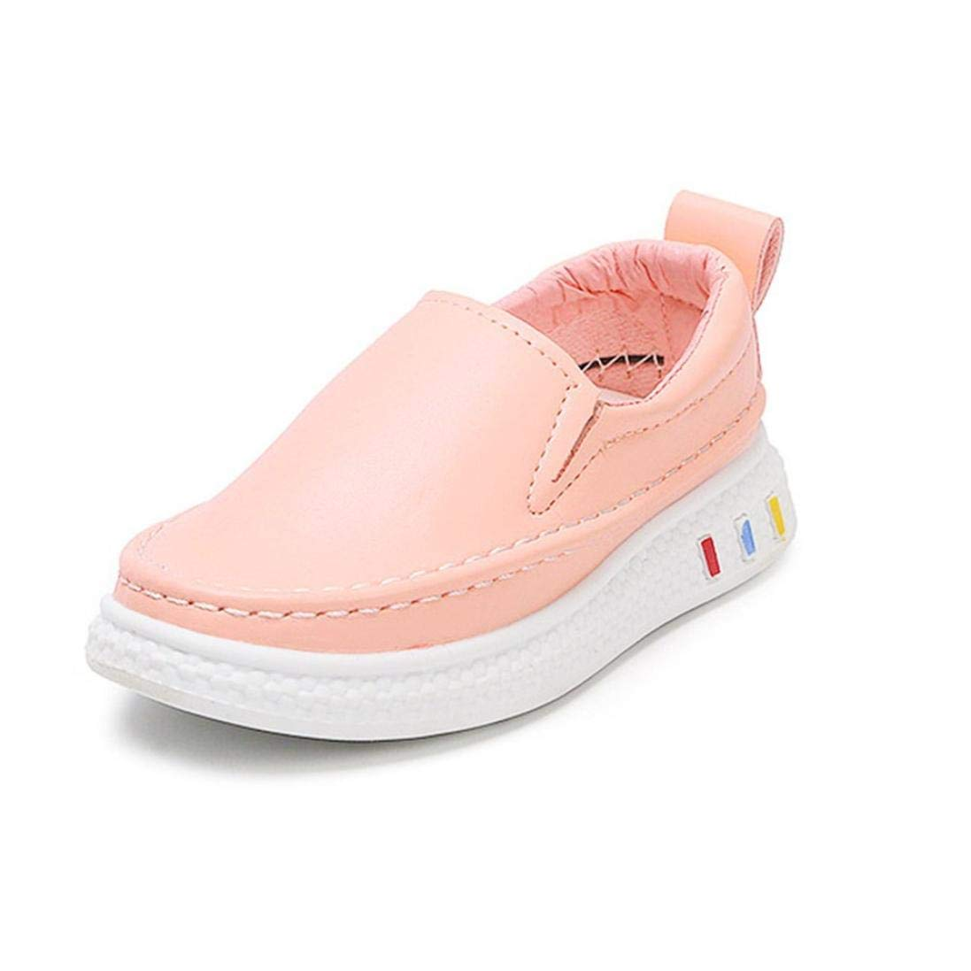 b7fe8eafdf8ec Get Quotations · Simayixx Children s Formal Solid Color Student Shoes Small Shoes  White Shoes