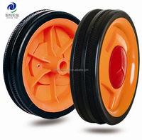 4 inch molded plastic toy wheels and tires
