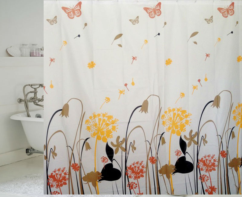 bathroom accessories home goods printed peva window curtain as shower curtains buy curtain. Black Bedroom Furniture Sets. Home Design Ideas