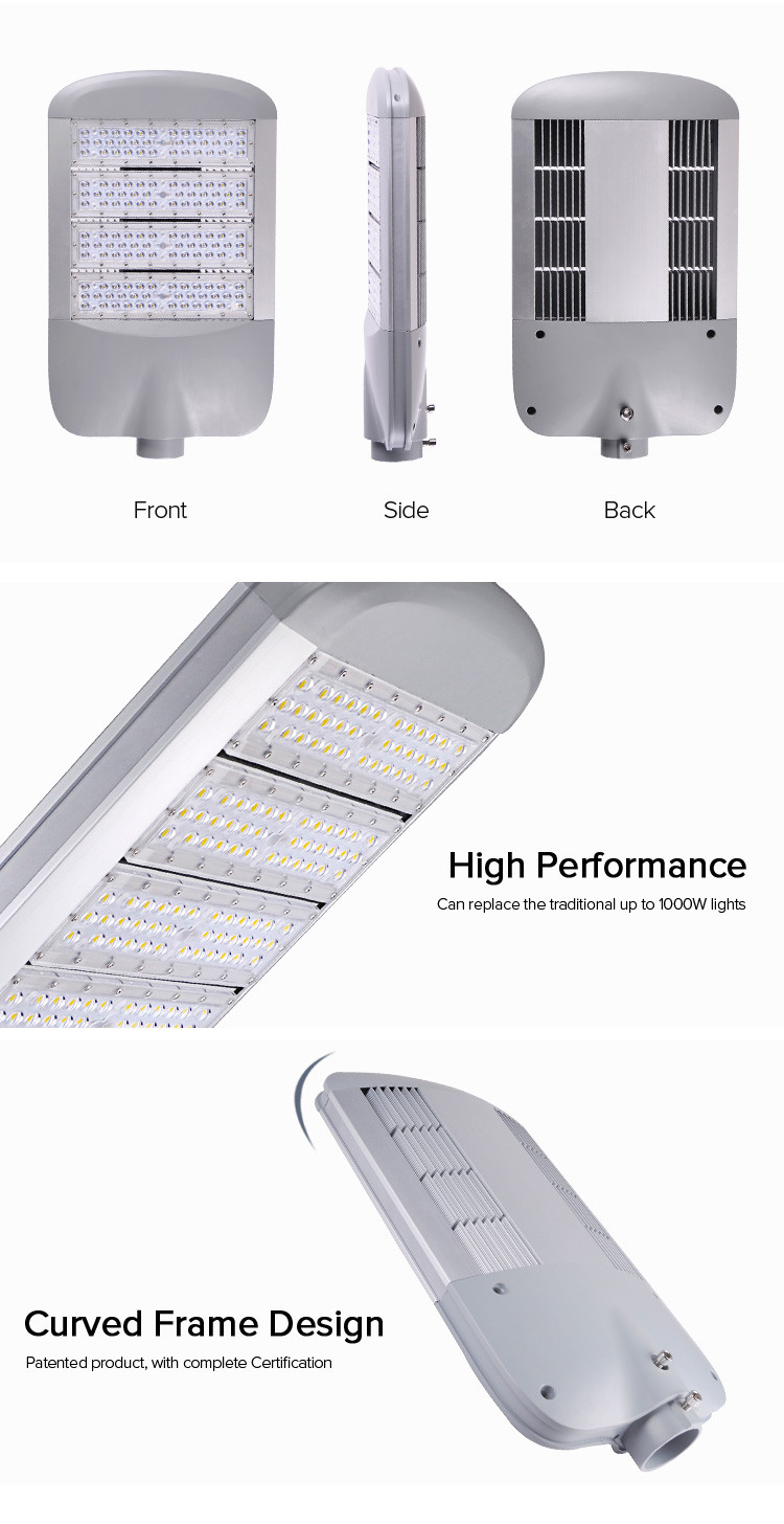 Low Energy Consumption High Power 150w Squares Led Street Light ...