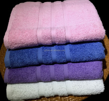 Healthy high quality no softener 100% Pakistan cotton hotel bath towel