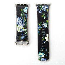 Ремешок для часов Apple Watch 5, 4, ремешок из натуральной кожи 40, 38, 42 мм для iwatch 5, 4, 3, 2, 1, 44 мм(Китай)