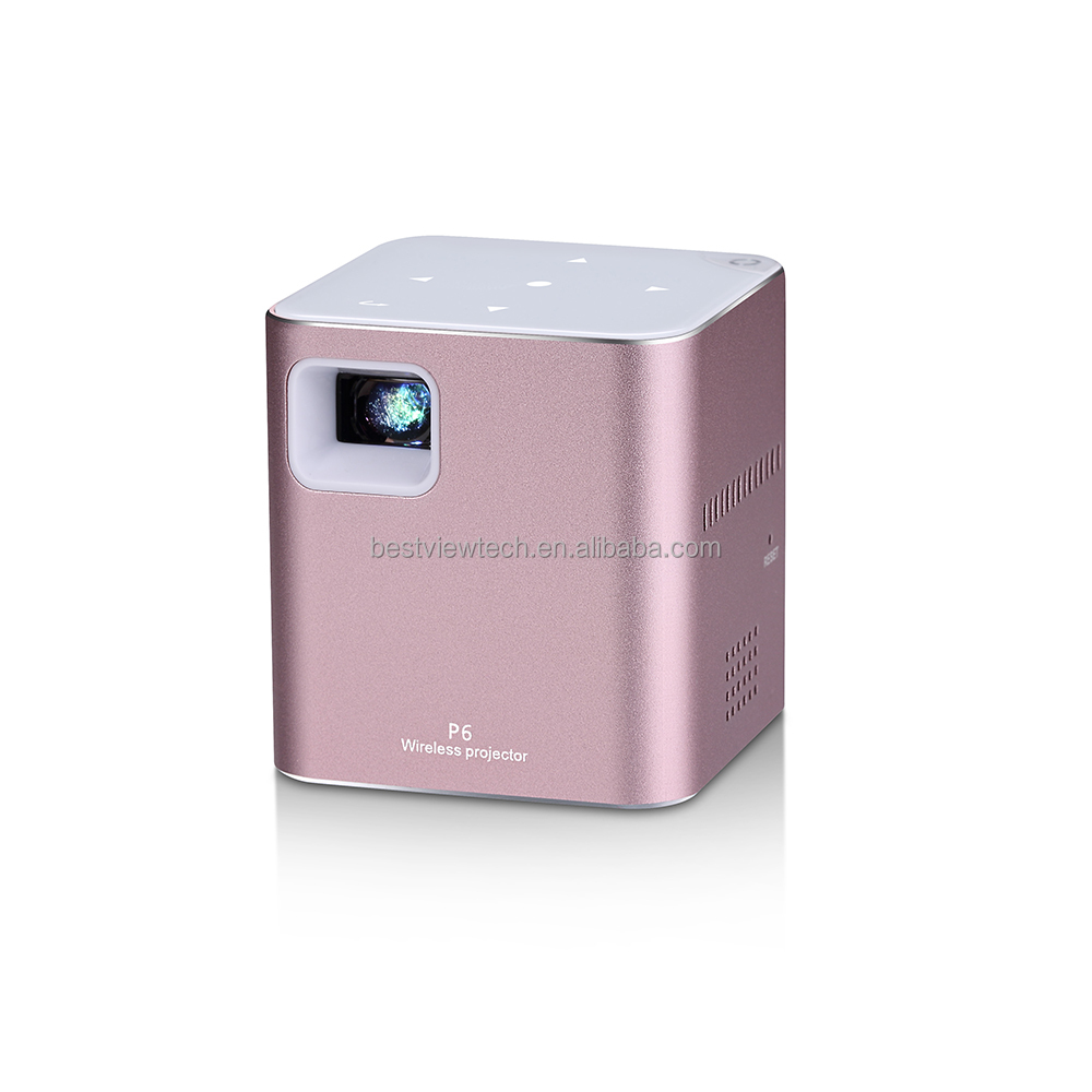 2017 Latest model mini DLP projector home use beamer built-in Android and wifi system hot sell LED projector