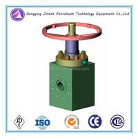 Oil Gas Well Well Head Used High Pressure Manual Choke Valve