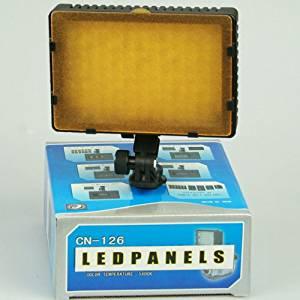 ePhoto 126 LED Video Photography light Panel Compact Dimmable CAMERA CAMCORDER LED light panel ePhotoINC DV126