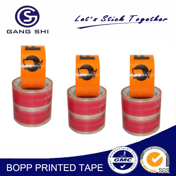 Offer Printing Design Printing and Acrylic Adhesive Custom promotional printing bopp packing tape