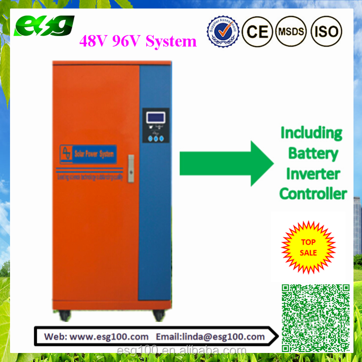 48V 96V <strong>Solar</strong>/UPS Power System with Inverter built-in MPPT/PWM Controller and AGM/GEL Battery Inside for School /Office use