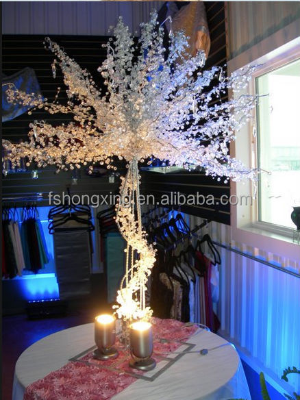 New High Big Crystal Wedding Tree Centerpieces Wholesale For Wedding