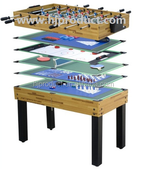 Factory Manufacture X Mas Promotion Family Home Fun Sport Kidu0027s Multi  Purpose Pool Game Table