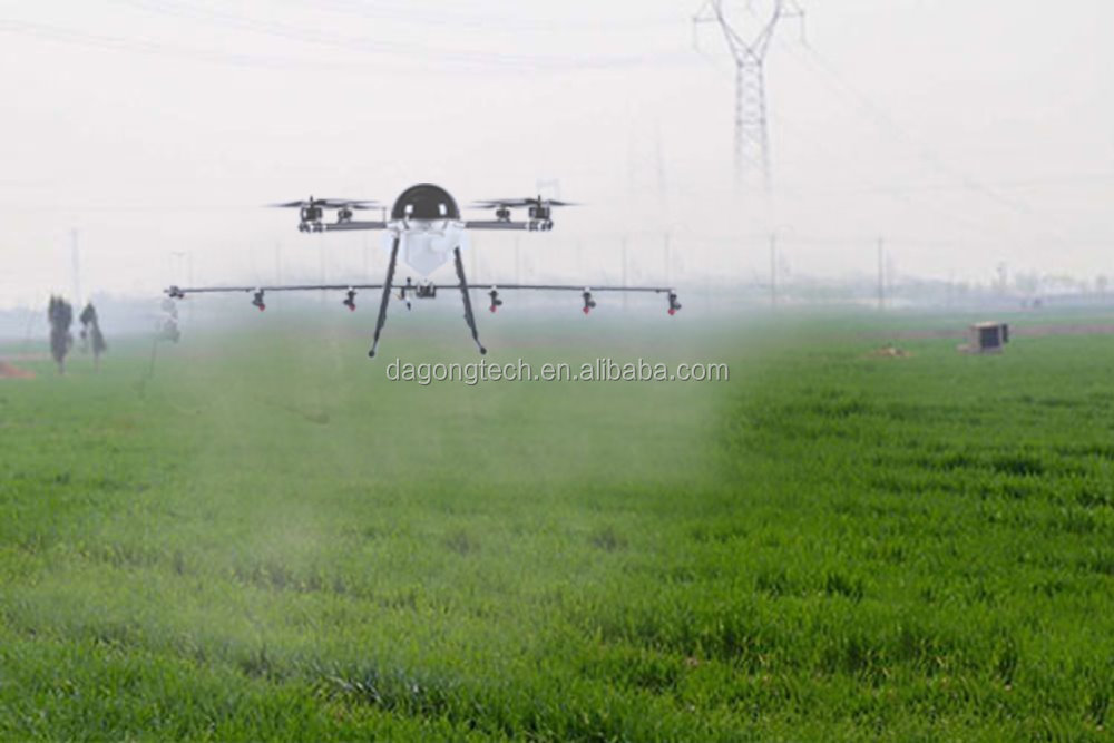 GPS autonomous aviation plant protection machine 10L 15L agricultural Drone sprayer