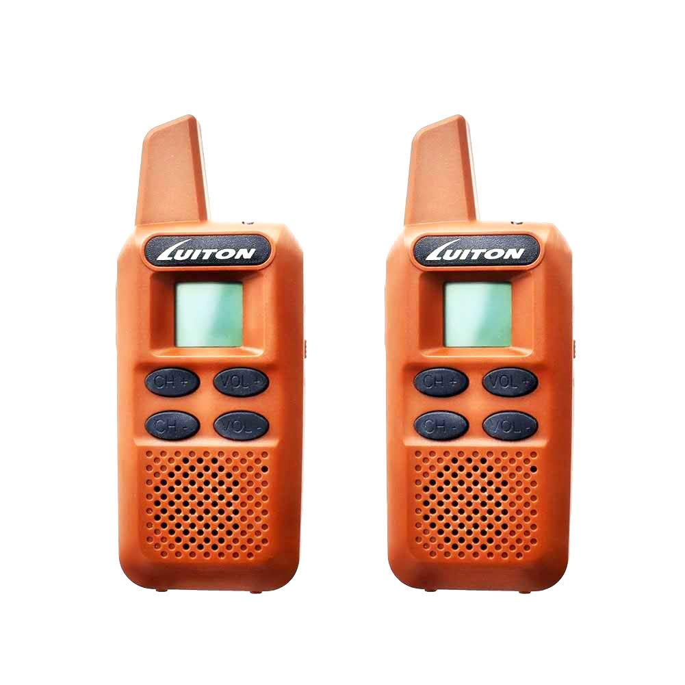 LUITON Rechargeable Walkie Talkies for Kids Long Range Two-Way Radio Mini Walkie Talkie Camping Long Distance Radios for Boys Girls Birthday Present