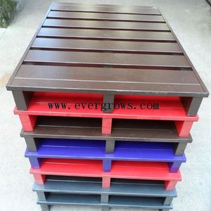 Durable Economical Heavy Duty Pallets , Custom Metal Pallets For Food / Pharmaceutical / Chemical Industries