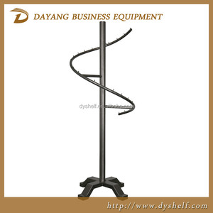New style metal clothing store round shape display rack for clothes/warehouse racks shelf